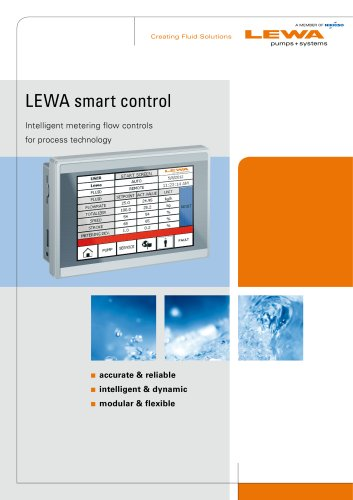LEWA smart control