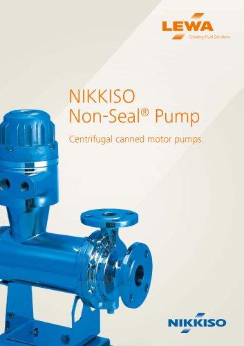 NIKKISO Non-Seal® Pump