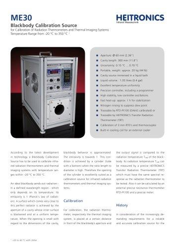 Calibration Source ME30