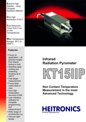 KT15 Infrared Thermometer / -100 .. +3000°C