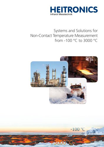 Systems and Solutions for non-contact temperature measurement