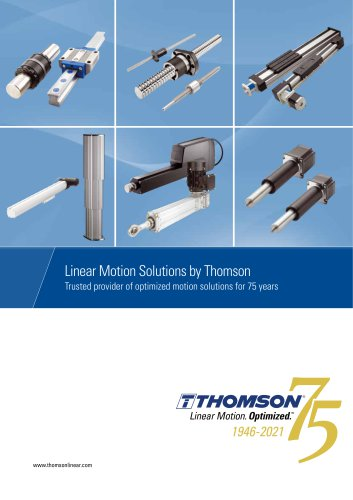 Mechanical Motion Solutions - Image Brochure