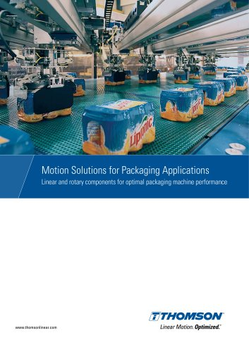 Motion Solutions for Packaging Applications