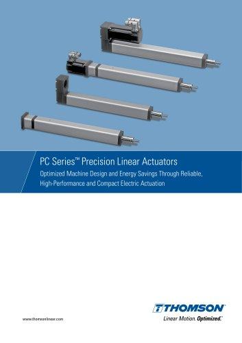 PC Series Electric Precision Linear Actuators