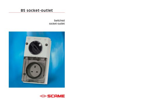 BS socket-outlet
