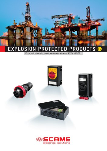 EXPOLOSION PROTECTED PRODUCTS