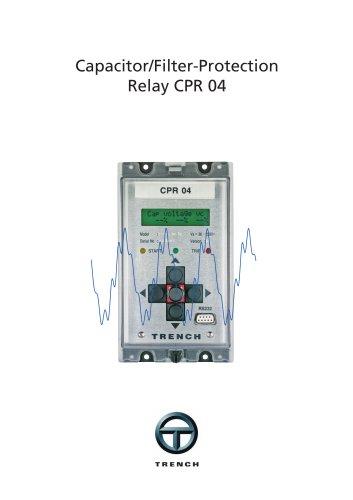 Capacitor Protection Relais - CPR04