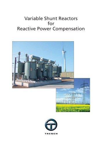 Variable Shunt Reactors