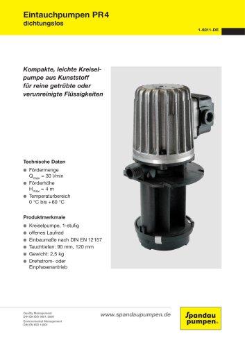 Immersion Pumps PR4