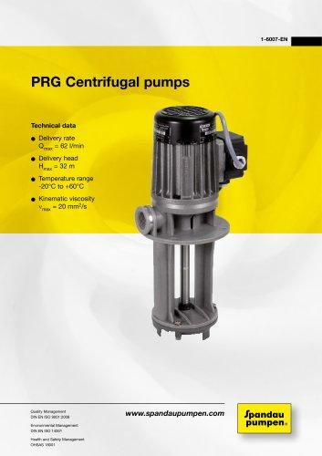 Immersion Pumps PRG