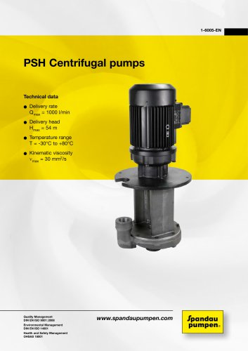 Immersion Pumps PSH