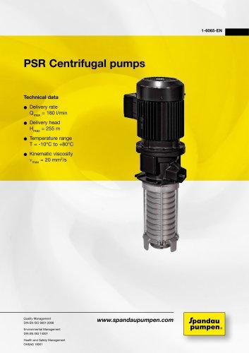PSR Immersion pumps