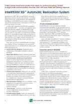 IntelliTEAM SG ? Automatic Restoration System - 2