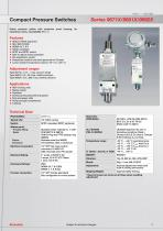 Compact Pressure Switches
