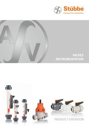 Valves Instrumentation