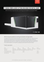 All Cover Exchange Platform Laser Cutting Machine P