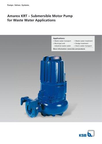 Amarex KRT, Submersible Motor Pump
