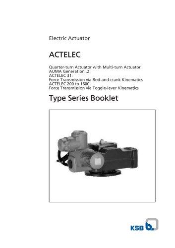 Type Series Booklet