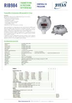 984 Differential pressure transmitters Riels - 1