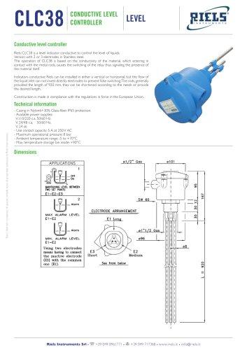 CLC38 Conductive level controller Riels