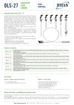 DLS-27 Capacitive Level Switches Riels® Instruments