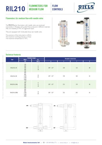 FR_R_FPL_R_Flowmeters_for_medium_flow_Riels