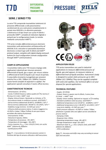 T7D_Differential_pressure_transmitter_Riels
