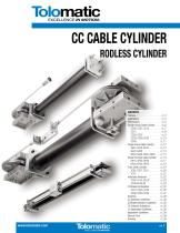 CC CABLE CYLINDER  RODLESS CYLINDER