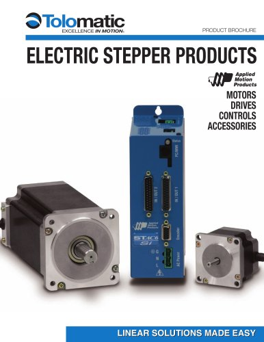 NEW! Electric Stepper Products