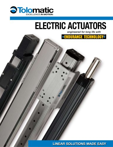 Tolomatic Electric Actuators