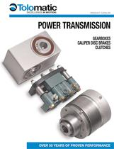 Tolomatic Power Transmission Products: COMPLETE CATALOG