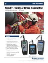 Spark® Family of Noise Dosimeters
