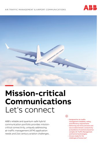 AIR TR AFFIC MANAGEMENT & AIRPORT COMMUNICATIONS