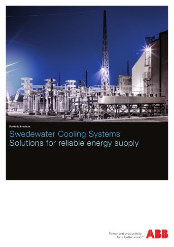 Swedewater Cooling Systems Solutions for reliable energy supply