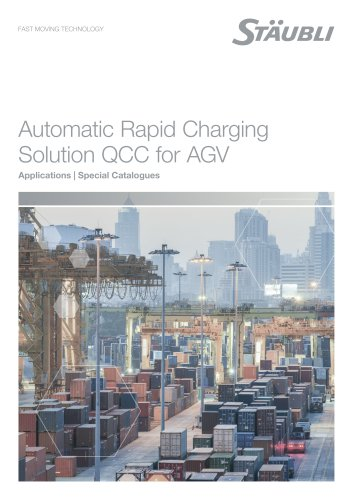 Automatic Rapid Charging Solution QCC for AGV