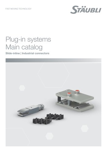 Connectors for plug-in systems