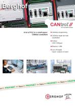 A lot of PLC in a small space: CANtrol controllers