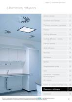 Cleanroom diffusers