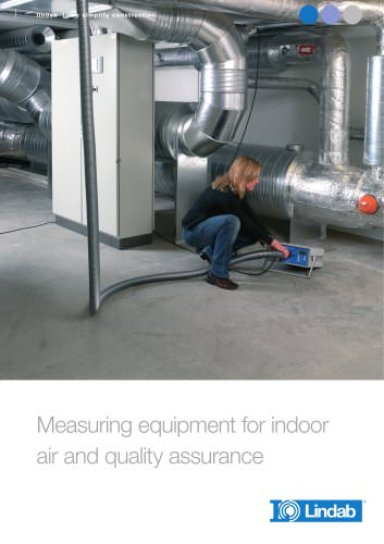 Measuring equipment for indoor air and quality assurance