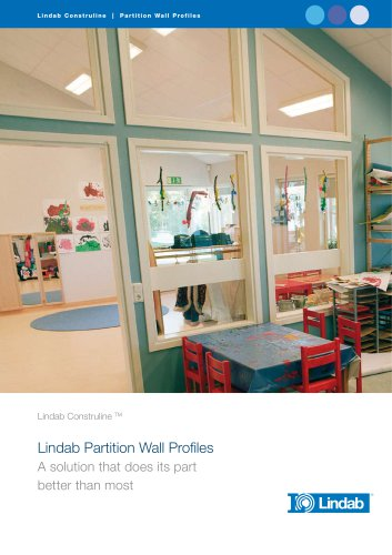 Partition wall profiles