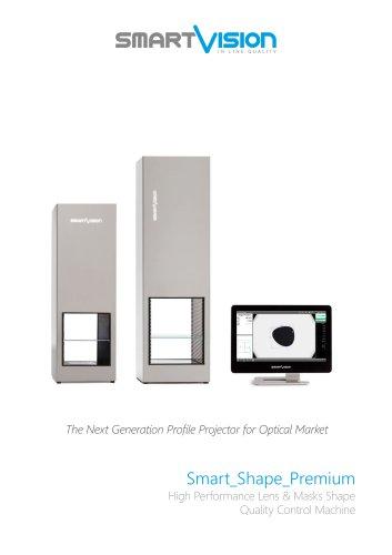 Smart_Shape_Premium: High Performance Lens & Masks Shape Quality Control Machine