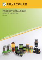 Gruetzner catalogue - 1