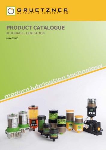 Gruetzner catalogue