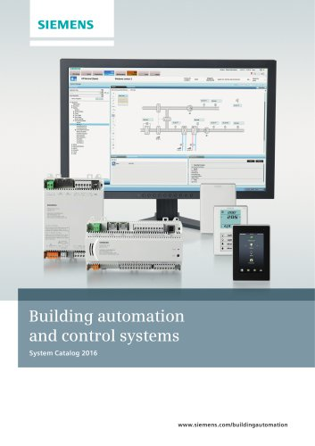 Building automation and control systems