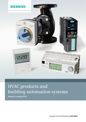 HVAC products and building automation systems 2014