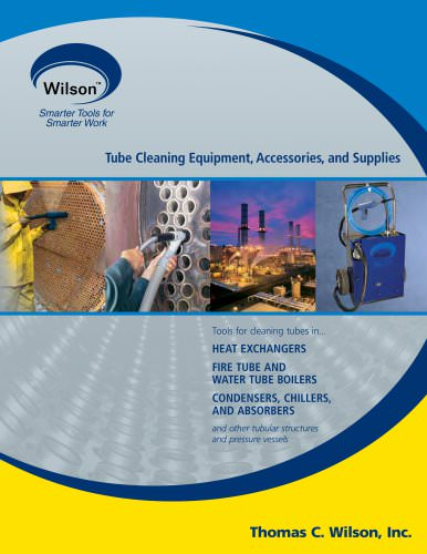 Tube Cleaning Equipment,  Accessories & Supplies