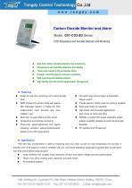 G01-CO2-B3 series CO2 monitor/alarm   Tongdy®