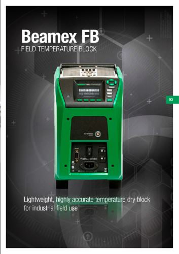 Brochure - Beamex FB field temperature block