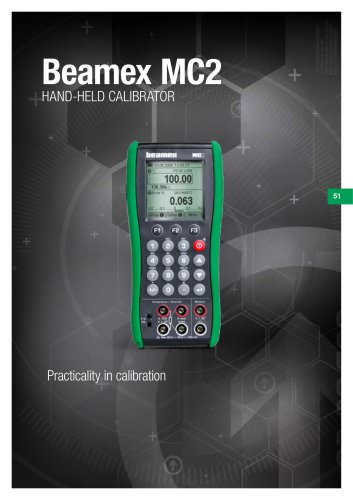 Brochure - Beamex MC2 handheld calibrator
