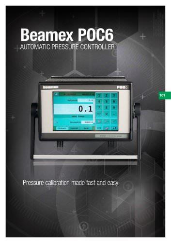 Brochure - Beamex POC6 Automatic pressure controller
